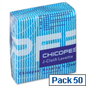J Cloth Original Large 610x360mm Blue P00799 Pack 50