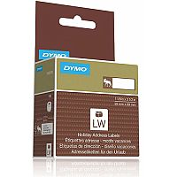 Dymo  28x89mm  Moose Holiday Address Labels  130 Labels  for Dymo LabelWriter Series