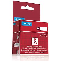 Dymo  28x89mm  Lumberjack Holiday Address Labels  130 Labels  for Dymo LabelWriter Series