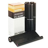 Brother PC 304 RF Fax Ribbon Black Pack 4