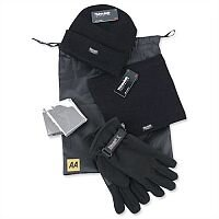 AA Winter Warmer Kit of Hat/Gloves/Neck-Warmer and Foil Blanket Ref 5060114613140