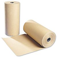 Brown Kraft Paper Packaging Roll 300m Recycled Ambassador