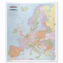 Europe Map Laminated Unframed 64 Miles to 1 inch Scale Map Marketing WEURP