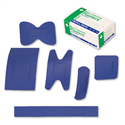 Safety First-Aid Plasters Washproof Assorted Sizes Blue Ref D7010 [Pack 100]