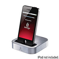 Iomega SuperHero Backup and Charger for iPhone iPod Touch 4th Gen