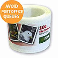 New An Post 60 Cent Postage Stamps x Roll of 100 Stamp Per Box