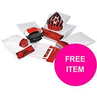 Tyvek Gusset Envelope Minipack C4 324x229x38 Pack 20 (Free Nestle Aero Hot Chocolate 1Kg Tin) Jan-Mar 20