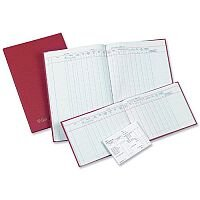 Guildhall Wages and Salaries Book 18 Employees 149x203mm 202H