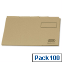 Elba A4 Tabbed Folder Buff 20442 Pack 100