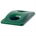 Rubbermaid Slim Jim Lid for Bottle Recycling System Green Ref 2692-88-GRN 098889