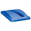 Rubbermaid Slim Jim Lid for Paper Recycling System Blue Ref 2703-88-BLU 099135