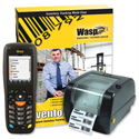 Wasp Inventory Control Mobile Solution DT10 Hand Computer and WPL305 Barcode Printer Ref 633808524760