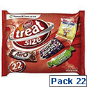Nestle Favourites Treat Size Confectionery 14g [Pack 22] Ref 12132777