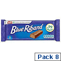 Nestle Blue Riband Milk Chocolate Covered Biscuits Individually Wrapped Ref 12173708 [Pack 8]
