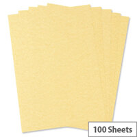 HuntOffice Parchment Premium Printer Paper A4 100gsm Gold 100 Sheets