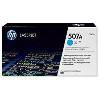 HP 507A Cyan LaserJet Toner Cartridge CE401A