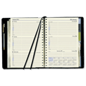 Collins Elite 2014 Executive Diary Wirobound Week to View Hourly W164xH246mm Black Ref 1130VBLK