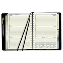 Collins Elite 2014 Compact Diary Wirobound Week to View Hourly W127xH190mm Black Ref 1150VBLK