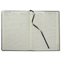 Collins 2014 Classic Desk Diary Manager Week to View Appointments Hourly W190xH260mm Black Ref 1210VBLK