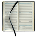 Collins 2014 Classic Desk Diary Slim 152 x 80mm Week to View Portrait Black Ref CAPV