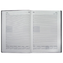 Collins 2014 Desk Diary Day to Page Current and Forward Year Planners W210xH297mm A4 Burgundy Ref 44BUR