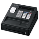 Sharp Cash Register 200 PLUs 7 Lines/sec Black Ref XE-A137BK