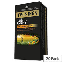 Twinings Tea Bags Gold Blend Lady Grey Ref A07551 [Pack 20]