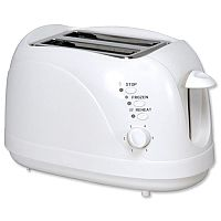 5 Star Facilities Toaster Cool Wall 2 Slices 700W White