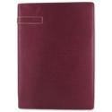 Holborn A4 Folder Leather 231x320mm Wine Ref 827346