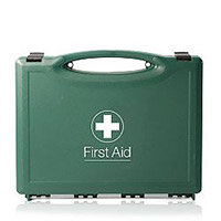 Green Box Vehicle First Aid Kit Up to 5 Person
