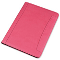 Alassio Messina Folio Leather Look Writing Case Pink Ref 30087
