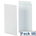 Securitex Pocket Envelopes Peel & Seal C5 White Ref 8350204 [Pack 50]