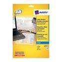 Avery J8950-10 Cable Marker Labels Inkjet Folding 60-45x40mm 240 Labels