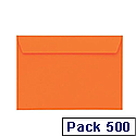 Coloured Envelopes pack 500