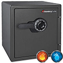 Sentry Fire Water Security Safe Combination 34.8 Litre 45kg Ref SFW123CSB