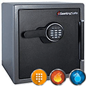 Sentry Fire Water Security Safe Electronic Lock 34.8 Litre 45kg