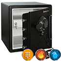 Sentry Fire Water Data Safe USB Electronic Lock 39.1kg 33.6 Litre Ref SFW123GDF