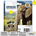 Epson 24 Inkjet Cartridge Capacity 4.6ml Page Life 360pp Yellow Ref T24244010