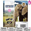 Epson 24 Inkjet Cartridge Capacity 5.1ml Page Life 360pp Light Magenta Ref T24264010