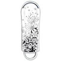 Integral Xpression 8GB Memory Stick USB 2.0 Flowers