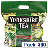 Yorkshire Tea Bags for Hardwater Ref 1039 [Pack 480]