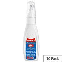 Tipp-ex Shake n Choose 2 in 1 Correction Fluid Pen 15ml Ref 901731 [Pack 10]