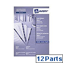 Avery Quick Dividers L7411-12 Dec-Jan 12 Part A4 White Ref 5267061