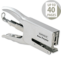 Rapesco Porpoise Metal Stapling Plier Grey Ref R81000A3