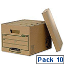 Fellowes Bankers Box Earth Series Standard Storage Box Ref 4470601 [Pack 10]