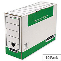 Fellowes Panda Transfer File Foolscap W366xD103xH258mm Ref 1179201 [Pack 10]