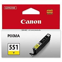 Canon CLI-551 Y ( 6511B001 ) Yellow Ink Cartridge Original - for PIXMA iP8750, iX6850, MG5550, MG5650, MG5655, MG6450, MG6650, MG7150, MG7550, MX725, MX925