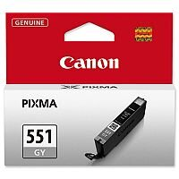 Canon CLI-551 GY ( 6512B001 ) Grey Ink Cartridge Original - for PIXMA iP8750, iX6850, MG5655, MG6350, MG7150, MG7150 MONSTER UNIVERSITY Edition, MG7550