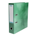 Elba Lever Arch File Laminated Gloss Finish 70mm Capacity A4 Green