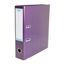 Elba Lever Arch File Laminated Gloss Finish 70mm Capacity A4 Metallic Purple